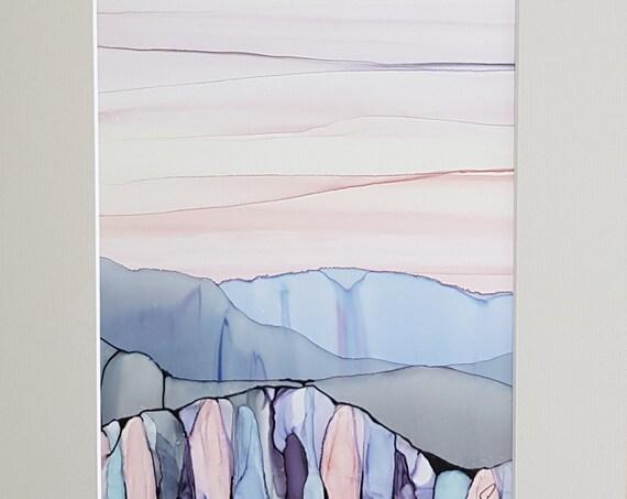Pastel Cliffs