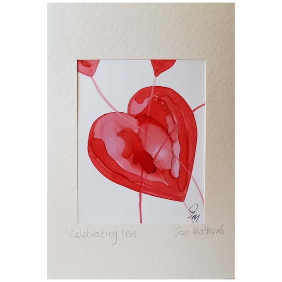 Love Hearts (Valentine Art Cards)