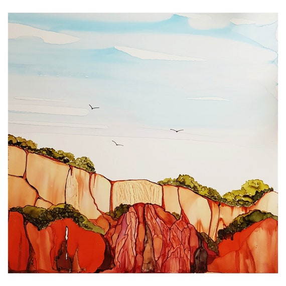 Red Cliffs at Falesia