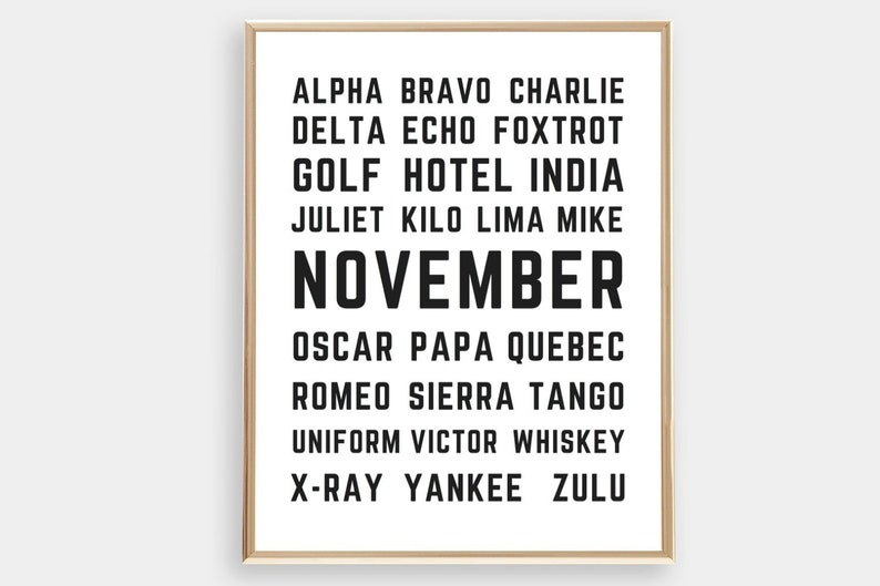 picture about Printable Phonetic Alphabet referred to as Printable Aviation Wall Artwork Phonetic Alphabet Aviation Decor Plane Artwork Aircraft Nursery Alphabet Poster