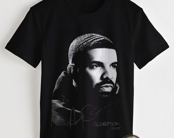 e636fe34 Drake T Shirt, Drake Shirt, Hip Hop Shirt, 90s Tees, Drake Scorpion Album  Clothing Women & Men Shirt