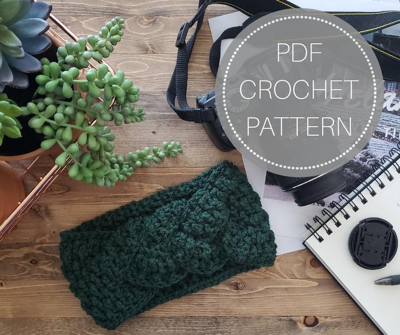 Fiona Celtic Knot Crochet Pattern Crochet Headband Crochet Etsy