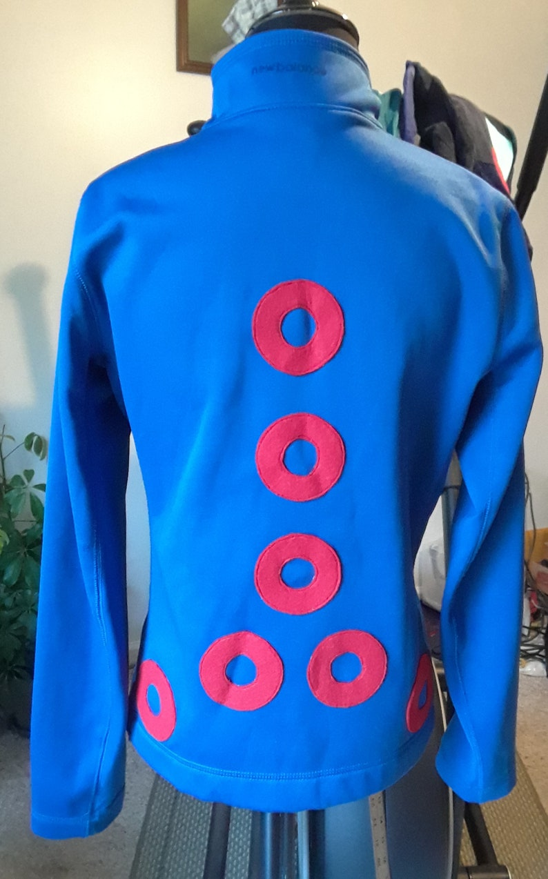 Ladies S Phish Jon Fishman donut track jogger jacket