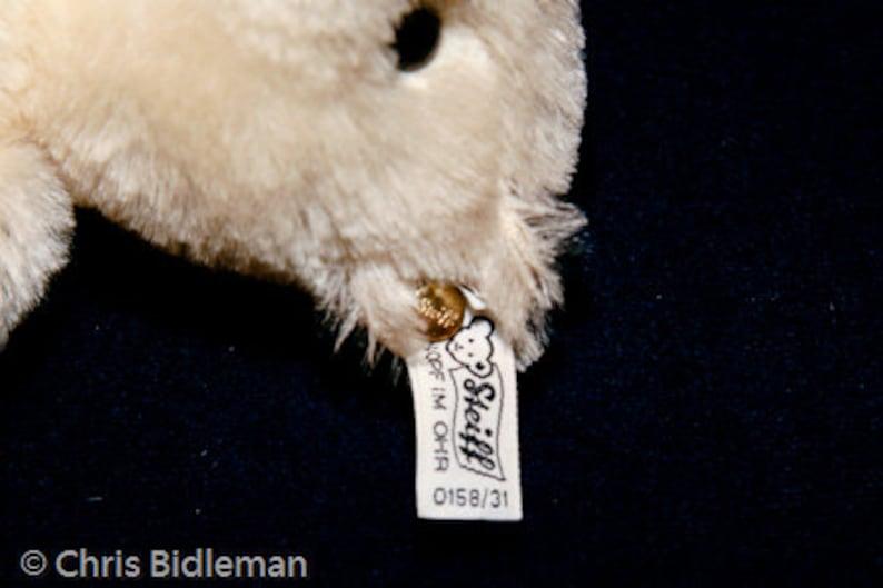 Steiff Margaret Strong White Bear Leather Paws LE EAN 015831