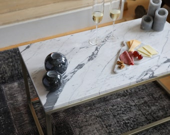 Marble Coffee Table Etsy