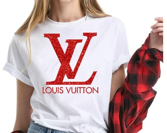 18dffe49eb1e Louis Vuitton Glitter Colors Shirt For Men And Women