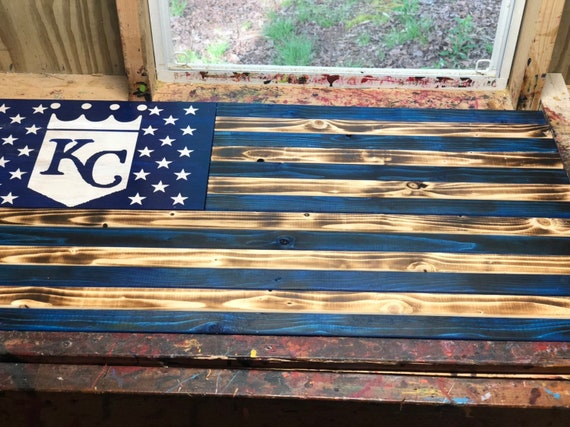 Kansas City Wooden Flag