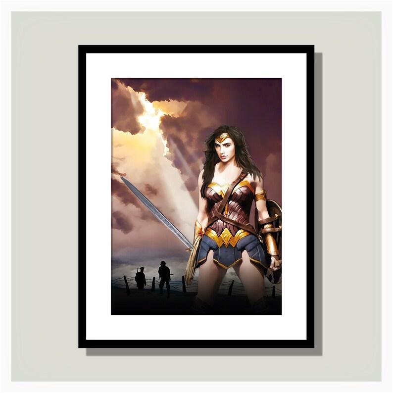 Wonder Woman Art Print image 0