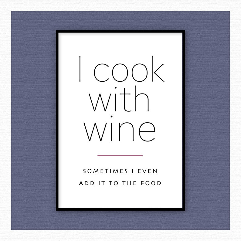 I Cook with Wine image 0