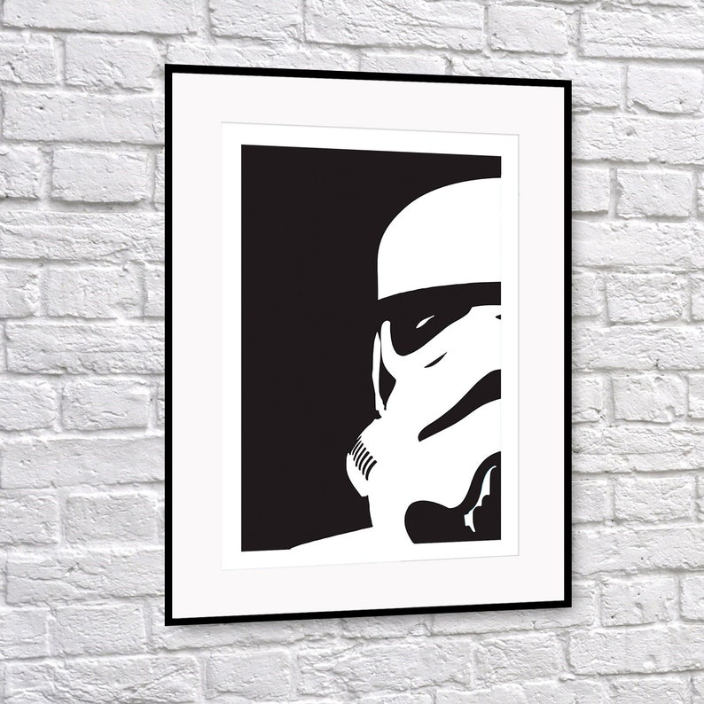 Star Wars Stormtrooper Art Print image 0