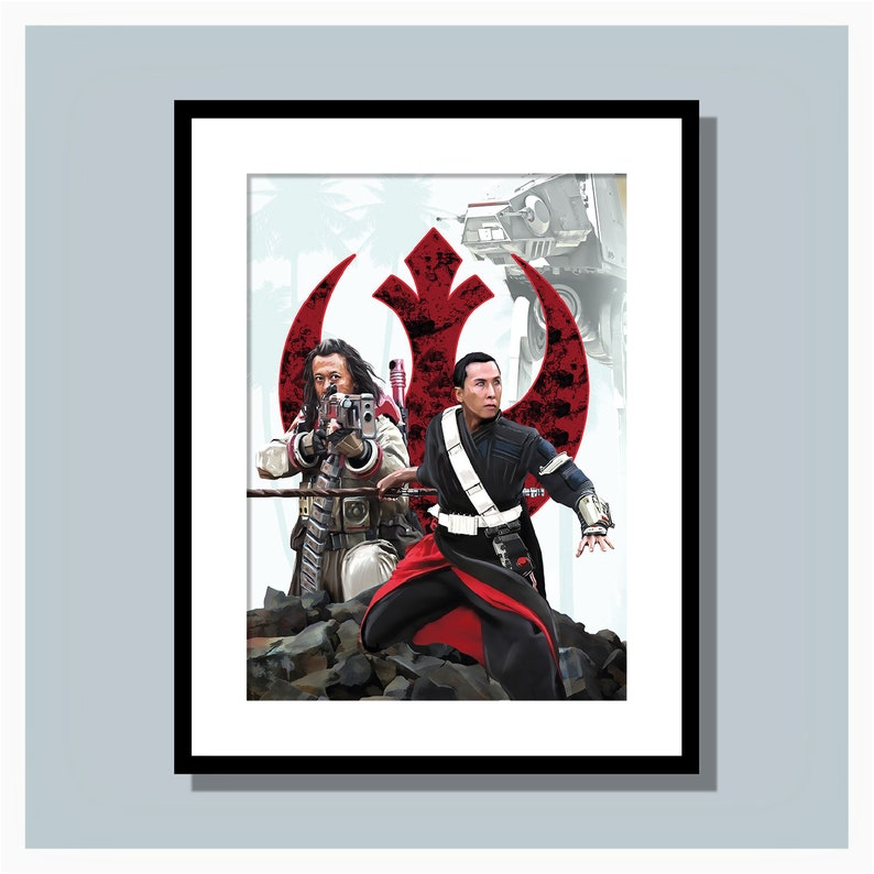 Star Wars Rogue One Art Print image 0