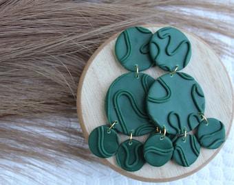 Psalm- clay earrings