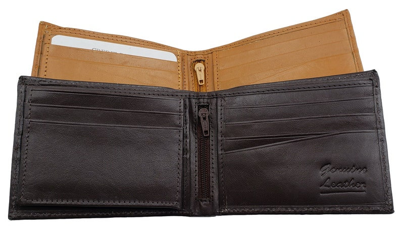 072956f87698 AG Wallets Mens Bifold Wallet, Top Quality Leather, Passcase Billfold,  Credit Card Holder, ID Wallet, Husband Gift, Gift Box Included