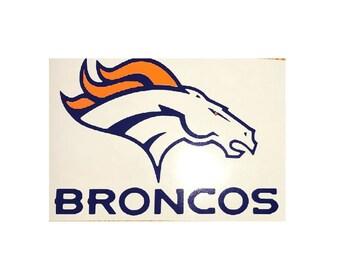 7119365d50b Denver Broncos digital cut car decal sticker for ipad