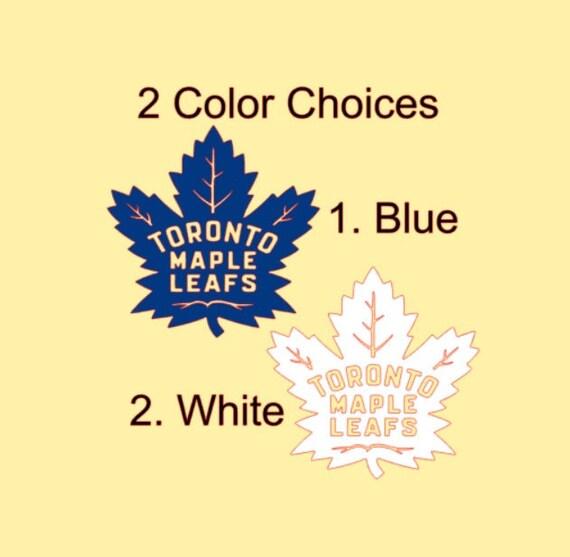 Toronto Maple Leafs Nhl Color Die Cut Vinyl Decal Sticker Choose Size Cornhole