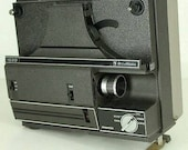 Bell Howell 1620 8 MM Film Movie Motion Picture Projector, Dual Speed, Vintage