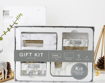 Marble Stationery Gift Kit