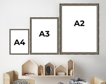 A2 A3 A4 Industrial Picture Frames