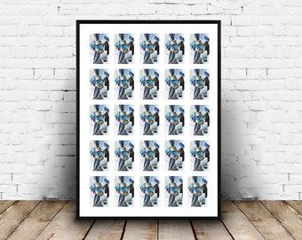 2x3 Inch Zink Paper Photos Multi Aperture Photo Frame