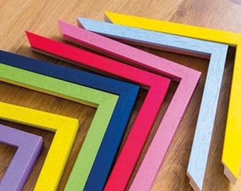 Spectrum Funky Colour Picture Frames