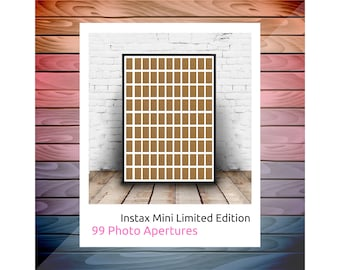 New for 2020 - Limited Edition - Instax Mini Photo Frame - 99 Photo Aperture 11x9
