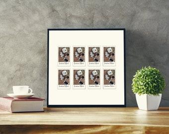 12 x 12 Inch Instax Mini Photo Frame