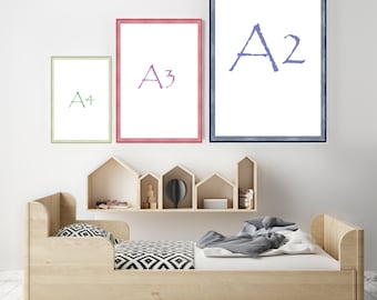 A2 A3 A4 Shabby Chic Picture Frames