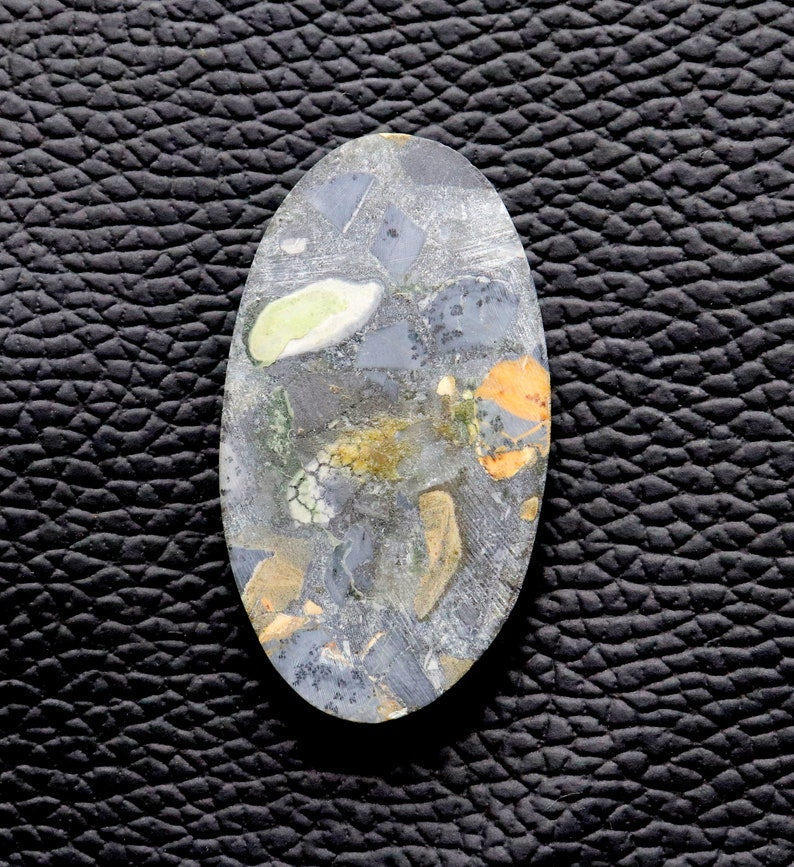 75/% OFF 7.50 Gram Natural Maligano Jasper One Side Polished Smooth Cabochon Loose Gemstones Oval Shape Size 39x22mm Approx Good Quality....M