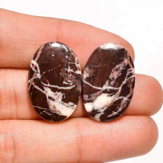 AAA Quality 100/% Natural Immaculate Coconut Jasper Oval Shape Cabochon Gemstone Handmade Thread Jewelry Macrame Pendant 2 N-2817
