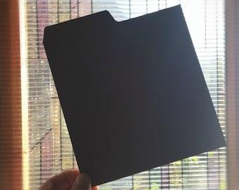 "7"" Record Dividers Black"