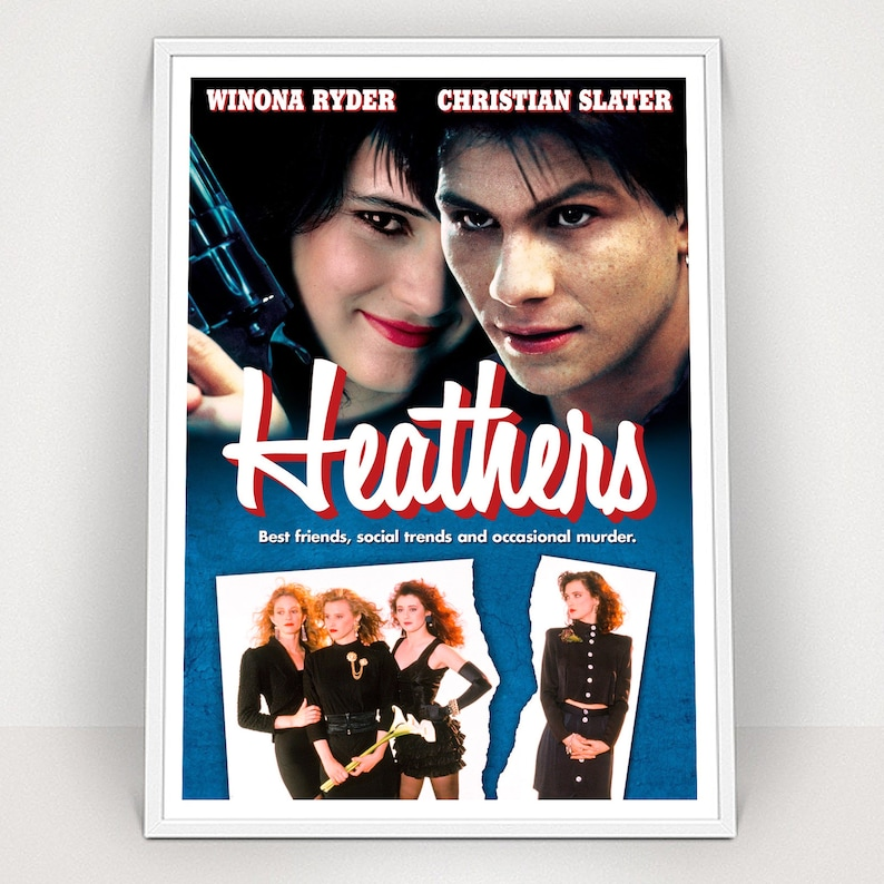 Heather Movie Poster A2 to A6 Sizes