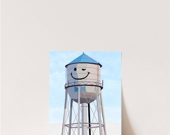 Ypsilanti Water Tower Enamel Lapel Pin