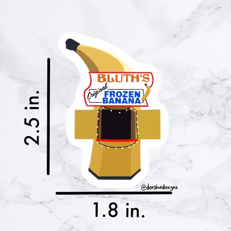 Bluth Banana Stand Sticker