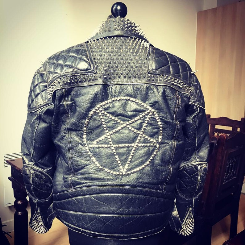 87dbeed3f04 Made-to-Order Custom Studded Leather Jackets by ForTheFly