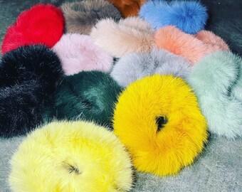 2x Luxury Ladies Faux Fur Hat Russian Style Cossack Pillbox Winter Fake Fur