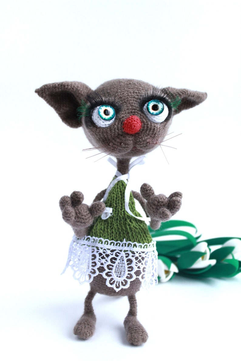 Amigurumi Knitting (Amigurumi) Hello Kitty Cat Making Part 4 – Arm ... | 1191x794
