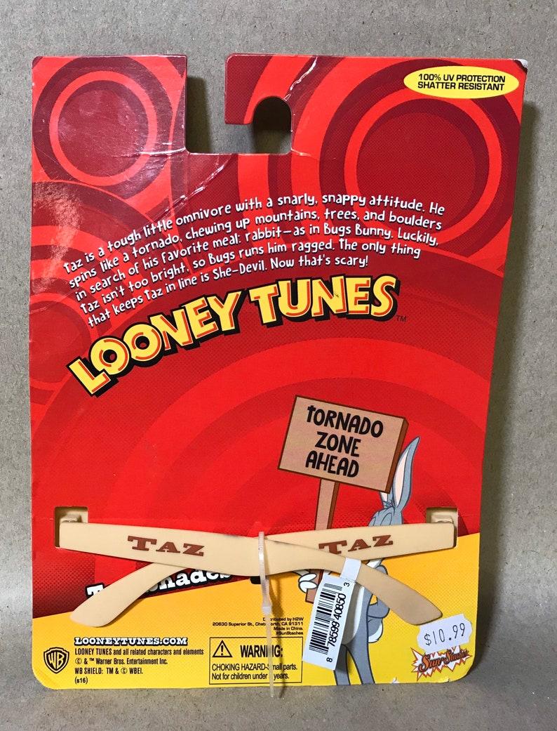 NEW!! Warner Bros Looney Tunes Sun-Staches Taz ShadesSunglasses