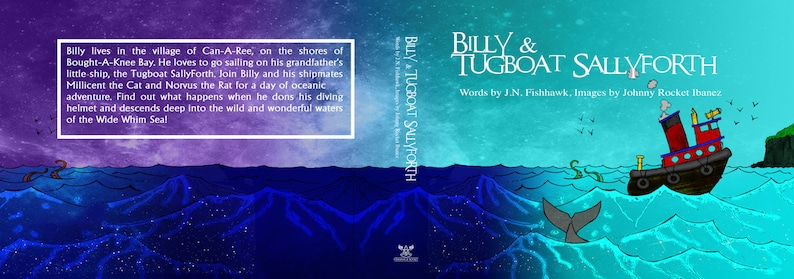 Billy & Tugboat Sallyforth an illustrated children story by image 0