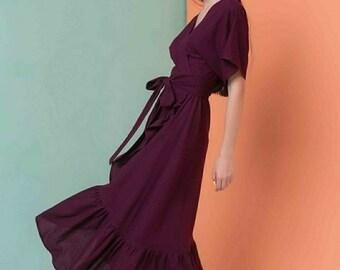Eco Linen Dress