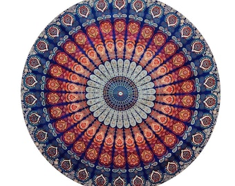 Smart Electronics Vintage Round Tapestry Mandala Boho Hippie Tapestry Beach Mats Indian Towel Spare No Cost At Any Cost Smart Home