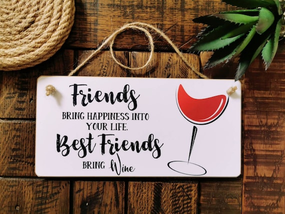 8x4/'/' Personalised Photo and Quote Plaque Birthday Christmas Best Friend Gift