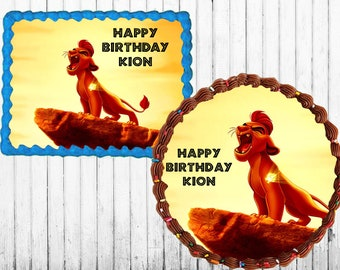 Lion Guard Edible Cake Topper Icing Sheet 0b1b31d95