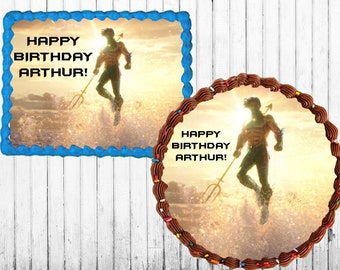 Aquaman cake topper | Etsy