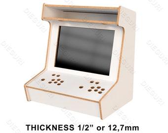 "Arcade Bartop Machine Cabinet - 12,7mm 1/2"" - CNC Router Plans"