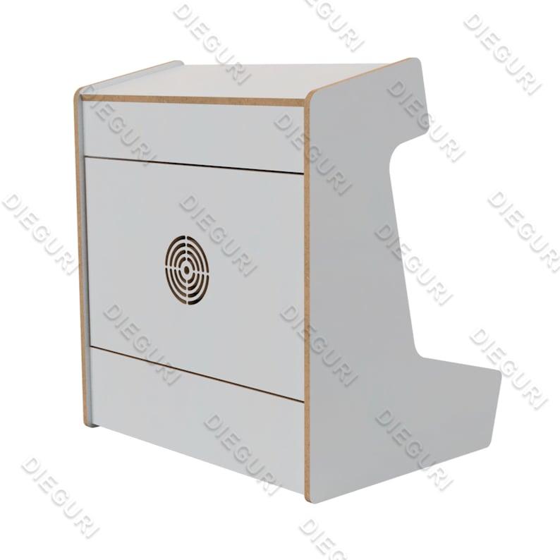 Arcade Bartop Machine Cabinet 127mm 1/2 CNC Router | Etsy