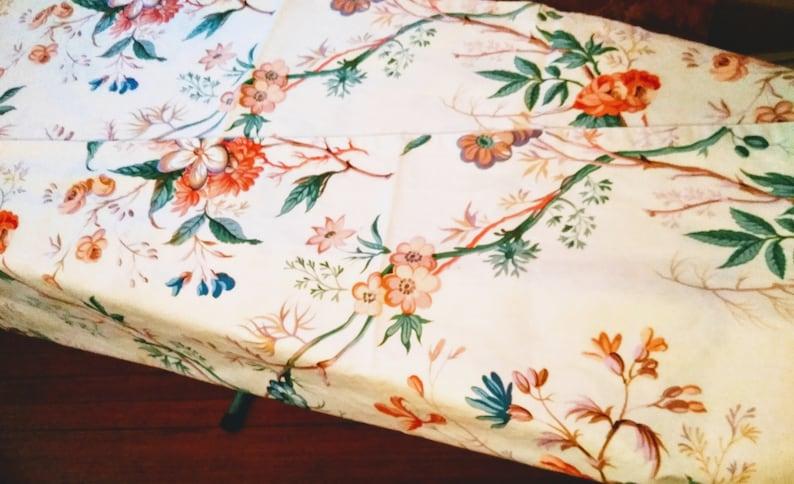 Mix /& Match Floral Mid-Century Window Treatment Vintage Floral of Curtains Floral Decor Vintage Floral Curtains Cottage Home Decor Pr