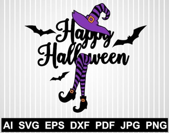 Witch Hat Svg Free Happy Halloween Files For Cricut Haunted Etsy