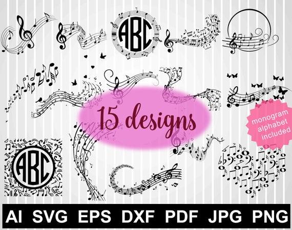 664 free musical notes vector   Public domain vectors