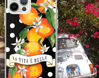 iPhone Case SICILIAN GARDEN , Sicily, Sicilian Coast, Sicily Lemons, Italy, Sicilia, Sicily traveler, Sicilian Oranges