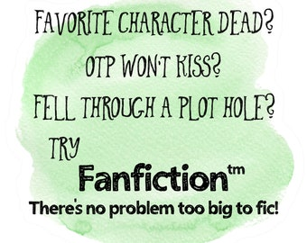 Fanfiction | Etsy